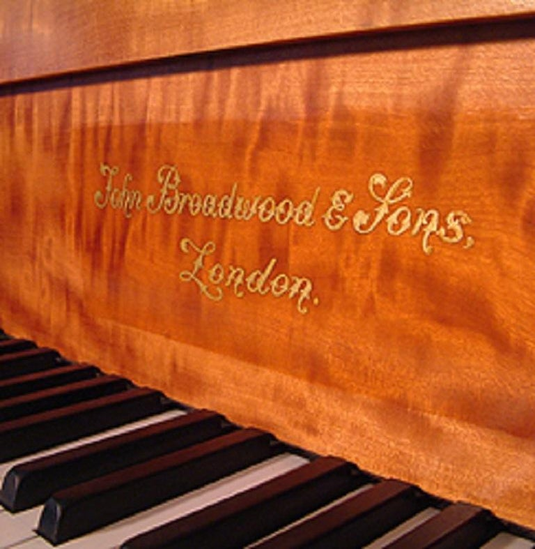 Regency Style, Broadwood Grand Piano with an Inlaid Satinwood Case For Sale 4