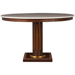 Regency Style Center Table, circa 1950s