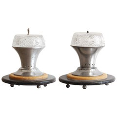 Regency Style Design Marble Table Lamps, VLabdesign Collection