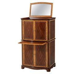 Regency Style Jewelry Cabinet
