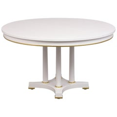Regency Style Oval Dining Table by Baker