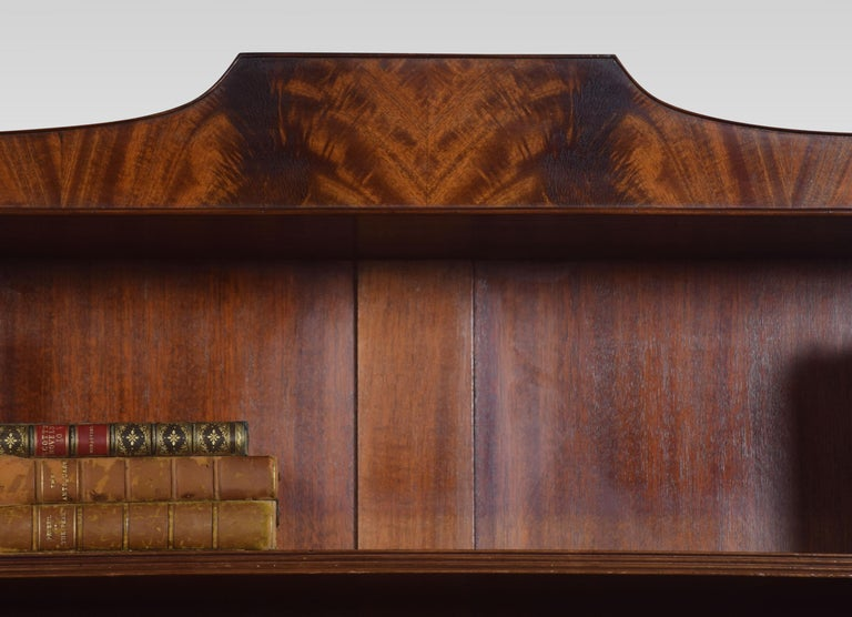 Regency Style Mahogany Bookcase In Good Condition For Sale In Cheshire, GB