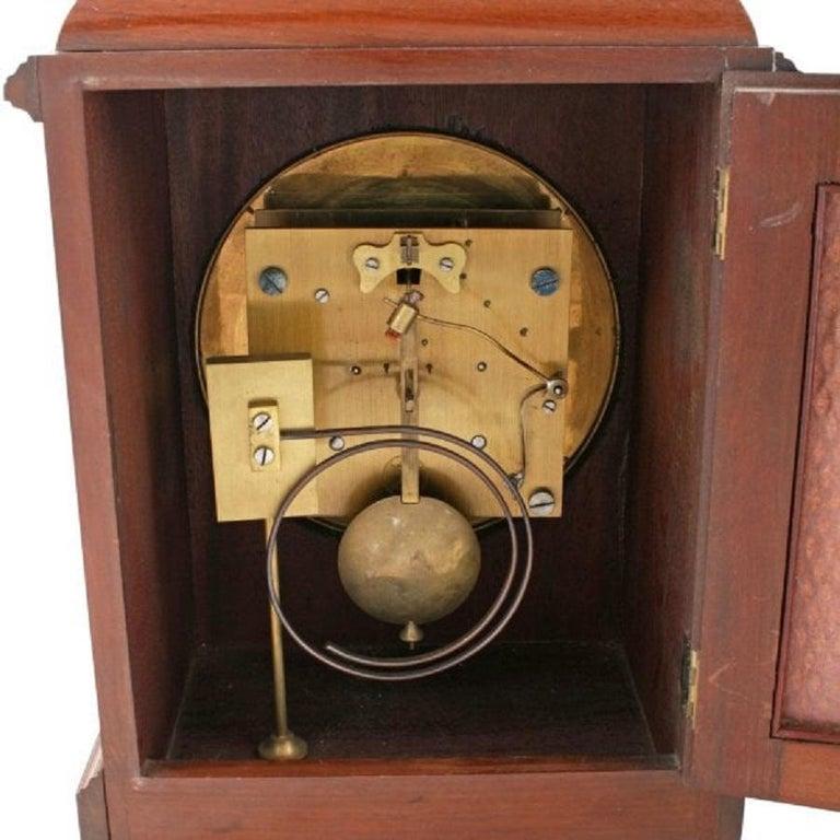 Regency Style Mahogany Bracket Clock, 20th Century In Good Condition In London, GB