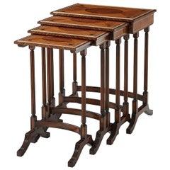 Regency Style Nest of Tables