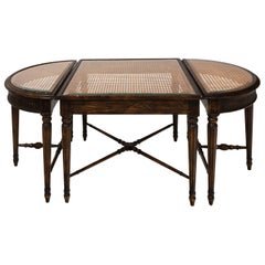 Regency Style Oak Coffee Table