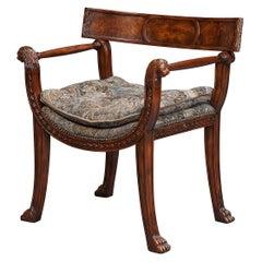 Regency Style Thomas Hope Armchair