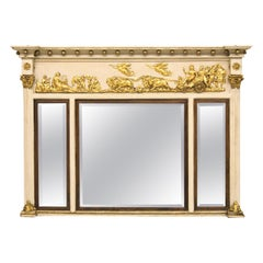 Regency Three Panel Mirror