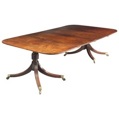 Regency Twin Pedestal Dining Table