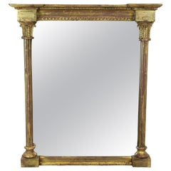 Regency Water Gilded Toilet Mirror