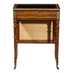 Regency Writing Table or Desk Attributed to John Mclean