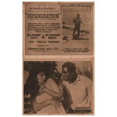 Regeneration 1923 US Lobby Card Set of 8