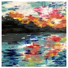 'Regensburg' Oil and Acrylic on Canvas by Paul Hervey-Brookes
