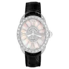 Regent 3238 Luxury Diamond Watch for Women, White Gold