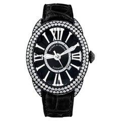 Regent Diamond Knight 4452 Luxury Diamond Watch for Men's Black PVD