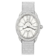 Regent Renaissance Ballerina 2833 Luxury Diamond Watch for Women, White Gold