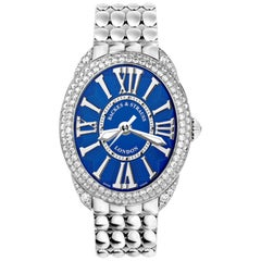 Regent Steel 3238 Luxury Diamond Watch for Women, Stainless Steel