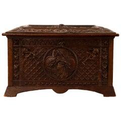Regina Wood Engraved Music Box
