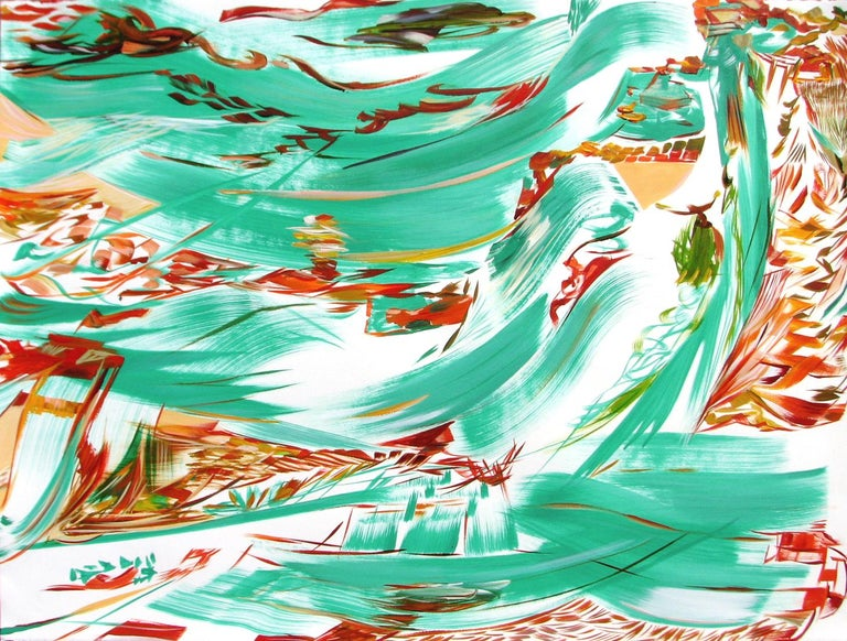 regina scully Abstract Print - Passage 23