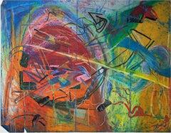 """The Mainvjine of Farsplintoc,"" Oil Pastel by Reginald K. Gee"