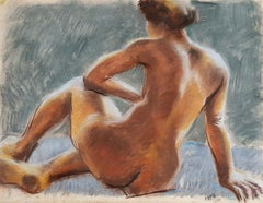 Sitting Nude, Art Students League