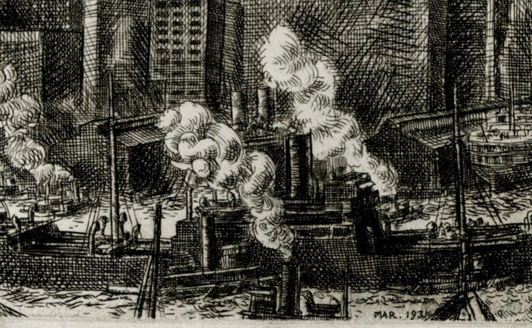 Wall Street - Print by Reginald Marsh