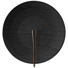'REGOLITH' Black Oxide Brass Contemporary Wall Light Scone