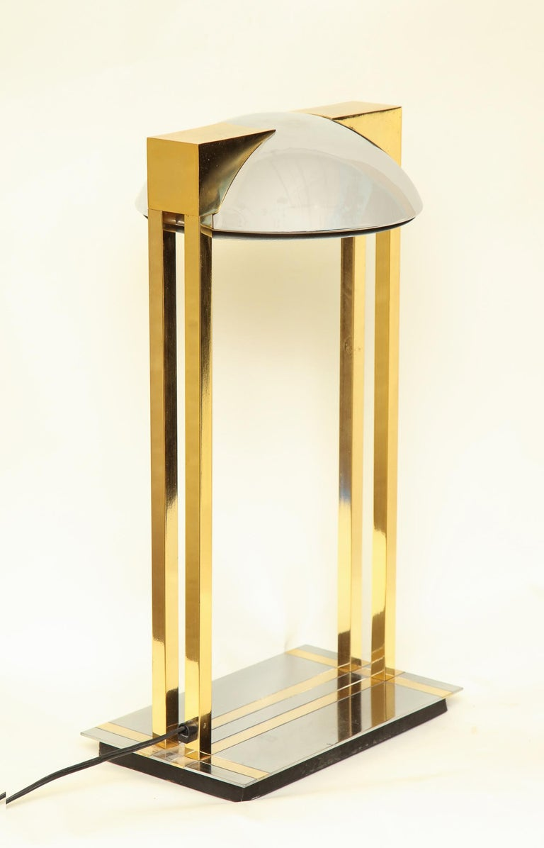Reico Table Lamps Pair of Mid-Century Modern Murano, Italy, 1970s For Sale 5