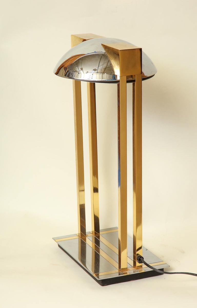 Reico Table Lamps Pair of Mid-Century Modern Murano, Italy, 1970s For Sale 1