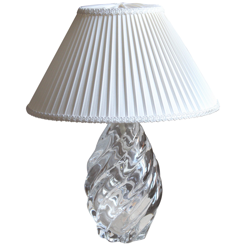 Reijmyre Glasbruk, Organic Table Lamp, Metal, Glas, Fabric, Sweden, 1950s