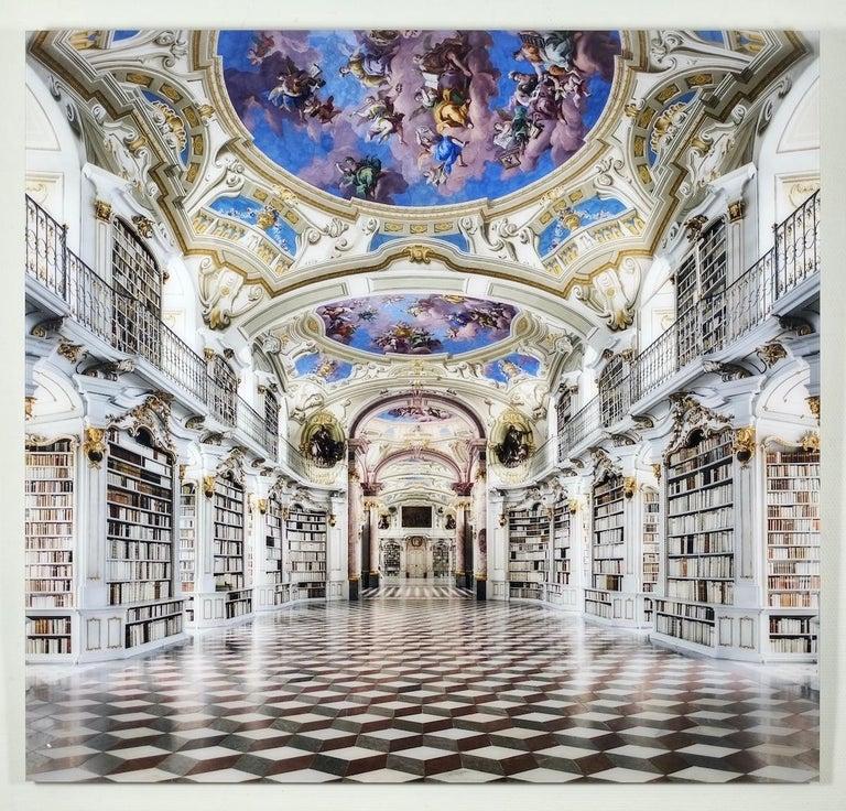 Admont Abbey, Library Hall, Austria - Photograph by Reinhard Görner