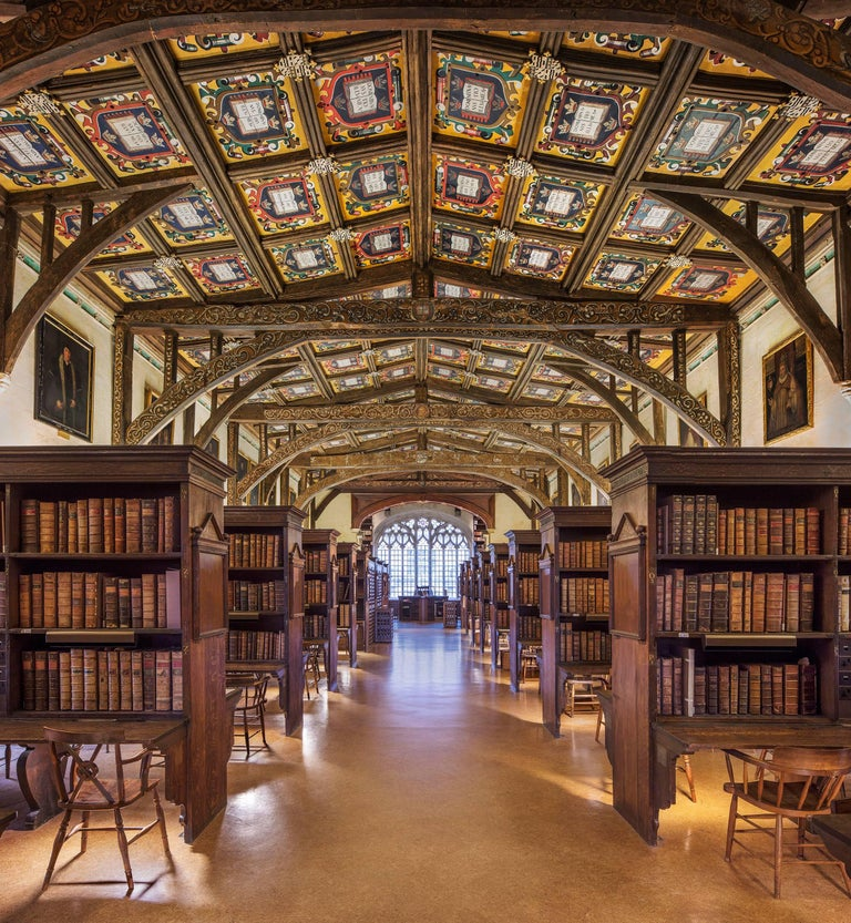 Reinhard Görner Figurative Photograph - Duke Humfrey's Library I, Oxford, England