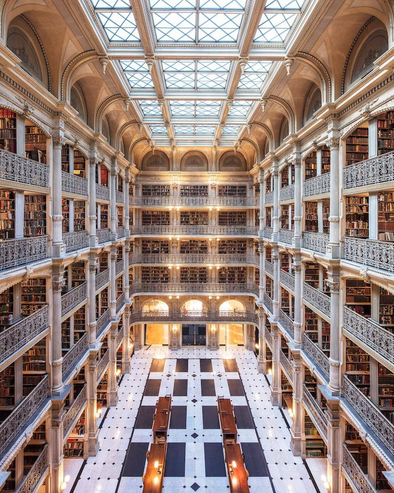 George Peabody Library II, Baltimore USA