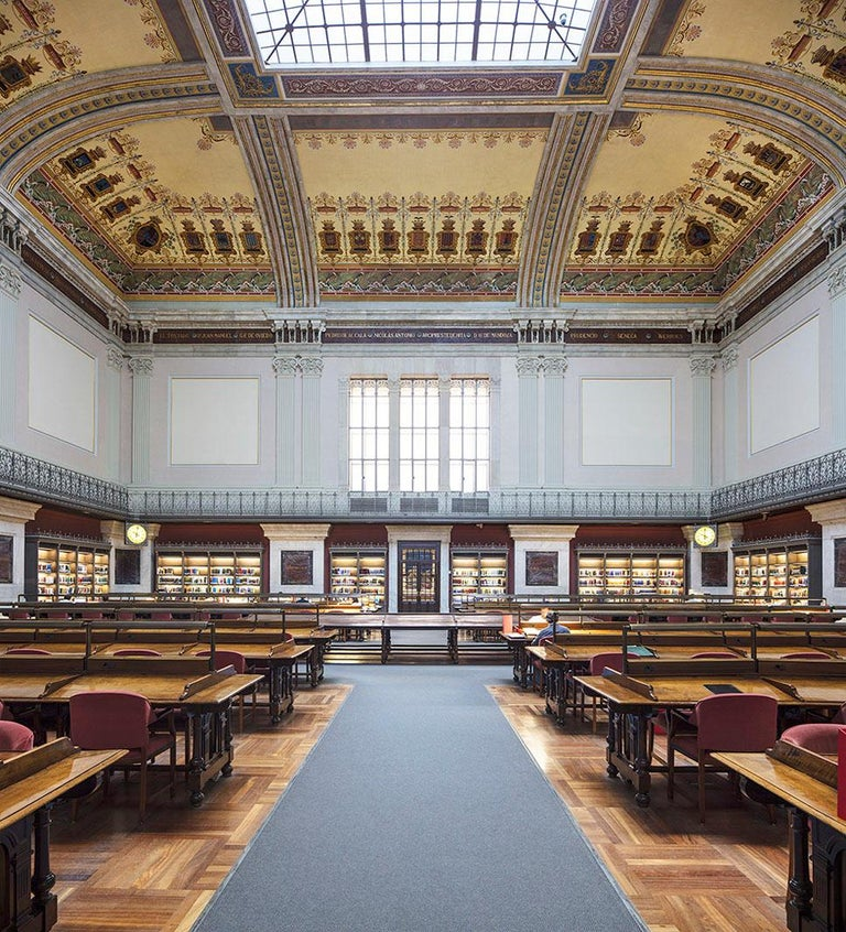 Reinhard Görner 'Biblioteca Nacional, Madrid, Spain' (Library, Madrid) - Photograph by Reinhard Görner