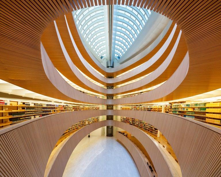 Reinhard Görner, Law Library,  Zurich, Switzerland - Photograph by Reinhard Görner