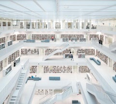 Reinhard Görner 'Open Space, City Library' Stuttgart, Germany