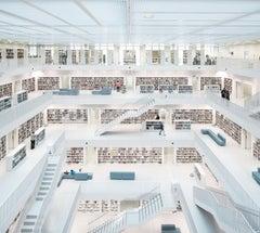 Reinhard Görner 'Open Space, City Library' Stuttgart, Germany