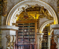 Reinhard Görner, Portals with Bookshelves, Biblioteca Joanina, Portugal