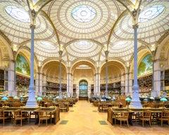 Reinhard Görner, Salle Labrouste Library, Paris