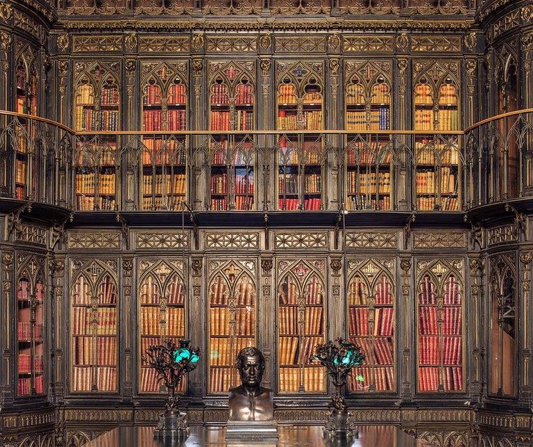 Reinhard Görner 'Toreno, Biblioteca del Senado, Madrid, Spain' (Library, Madrid) - Photograph by Reinhard Görner