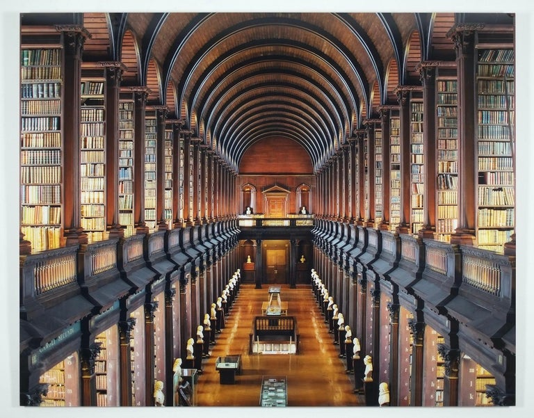 Trinity College Library - The Long Room IV - Photograph by Reinhard Görner