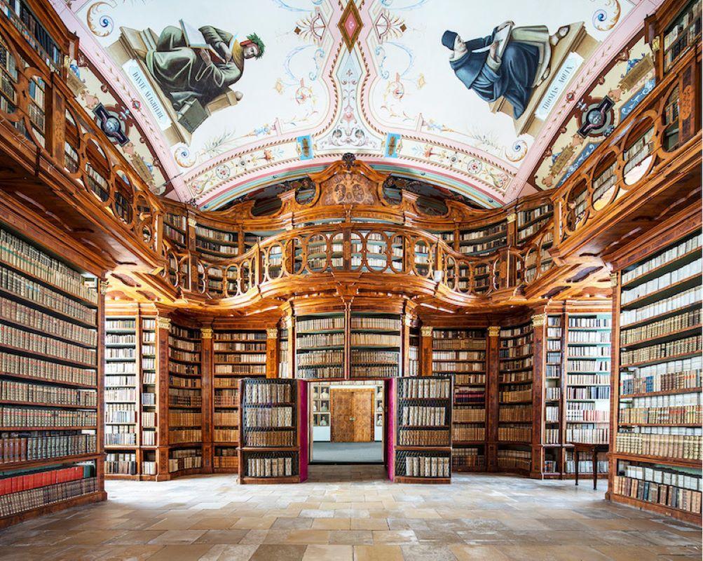 Two Men of Letters - Schagl Abbey Library
