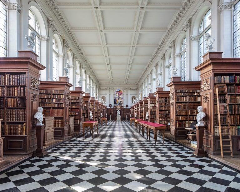 Reinhard Görner Figurative Photograph - Wren library, Cambridge