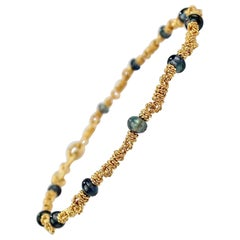 Sapphire Anklets