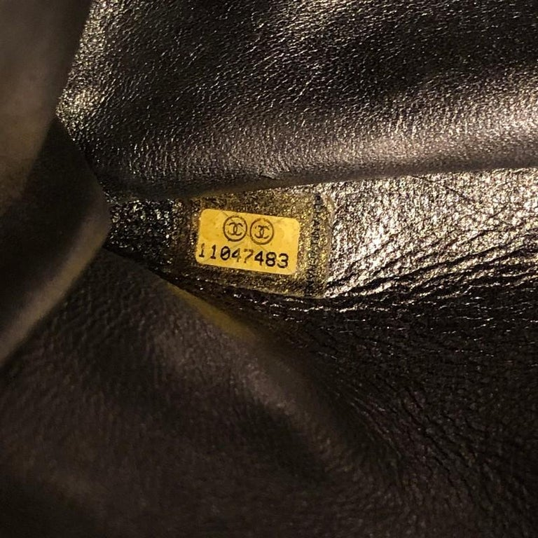Reissue 2.55 Flap Bag Quilted Metallic Aged Calfskin 226 For Sale 5
