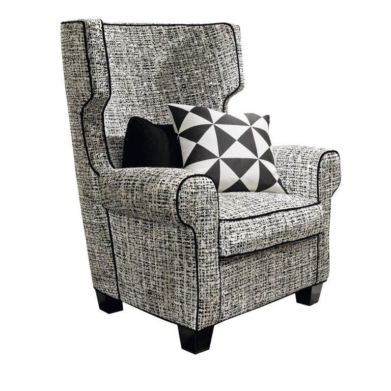 Italian Relax Armchair by Chiara Provasi For Sale