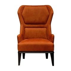 Relax Armchiar 2019 Orange Nabuk
