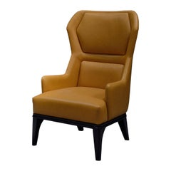 Relax Armchiar 2019 Yellow Leather