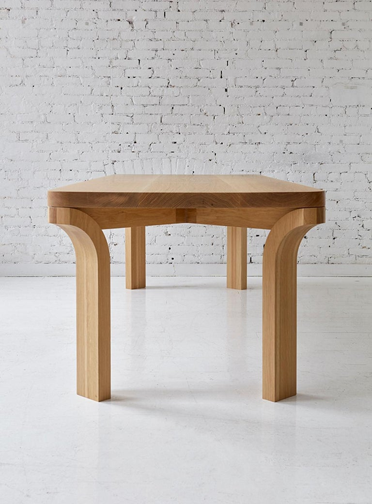 Relevé Dining Table Solid Oak Dining Table For Sale At 1stdibs