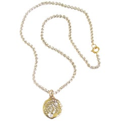 Jacqueline Rose Relic Coin Link Chain Necklace