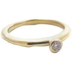 Jacqueline Rose Relic Diamond Solitaire Ring